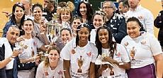 אלופות המדינה בכדורסל נשים